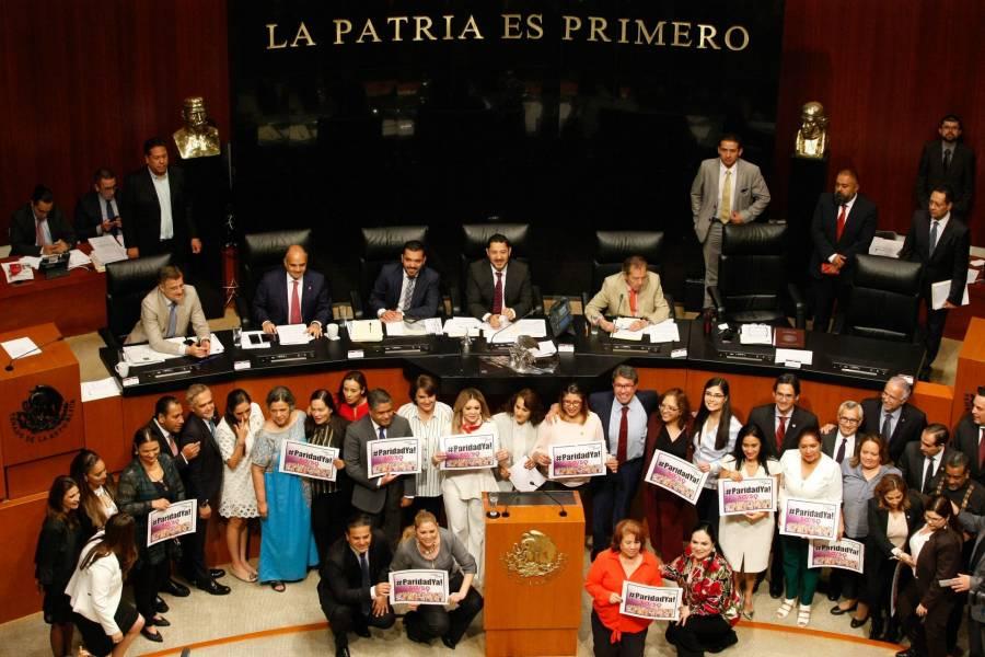 Diputados sentencian sobre paridad de género en gobierno