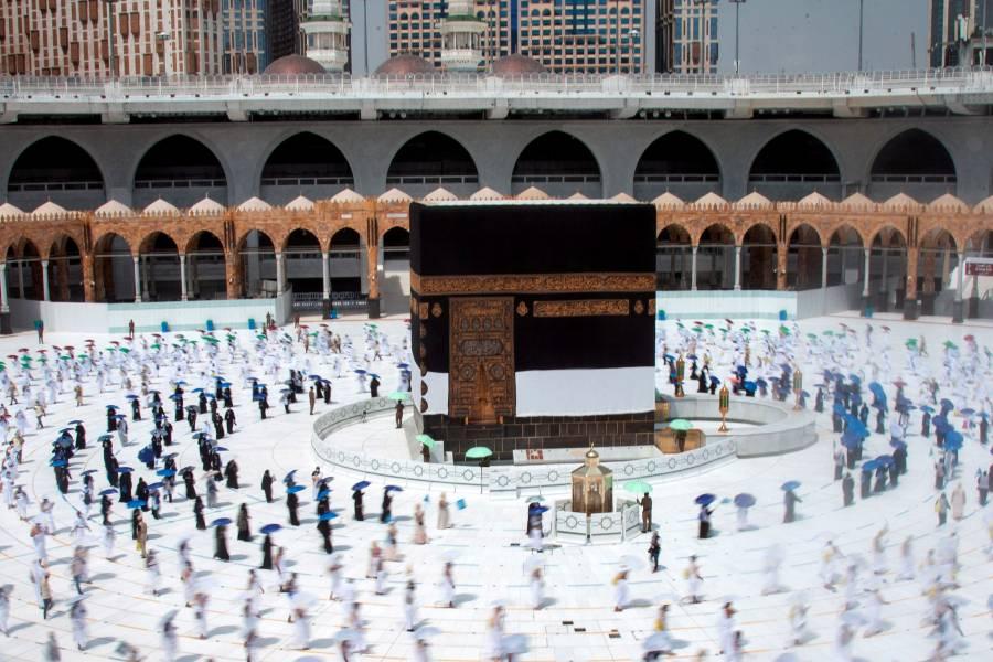 Inicia peregrinación a  La Meca, versión Covid