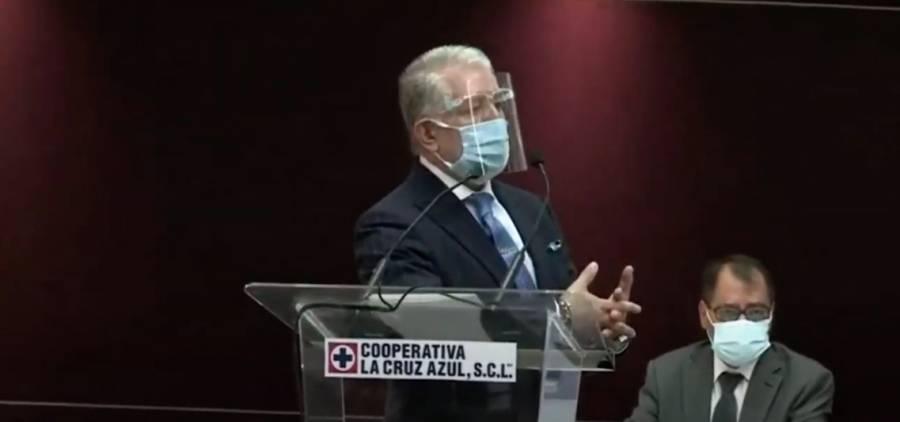 Por ausencia de Guillermo Álvarez, Cooperativa Cruz Azul designa Junta de Gobierno provisional
