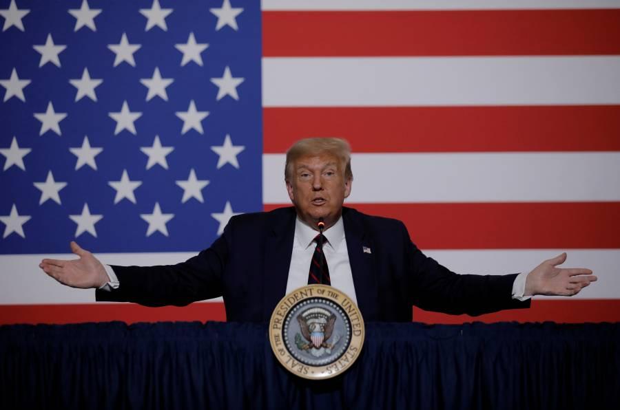 Trump se cuelga del Covid  y pide aplazar elecciones