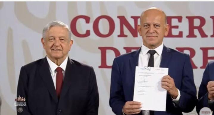 Gobierno de México y UNOPS firman acuerdo para comprar medicamentos en el extranjero