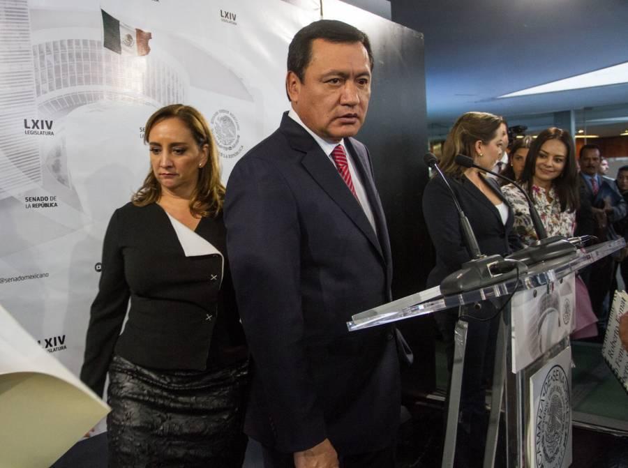 Ruiz Massieu exige el cese de la persecución política contra Osorio Chong