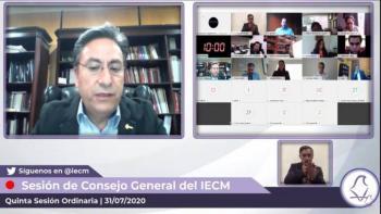 Por Covid-19 modifica IECM capacitación de las COPACO y organizaciones ciudadanas