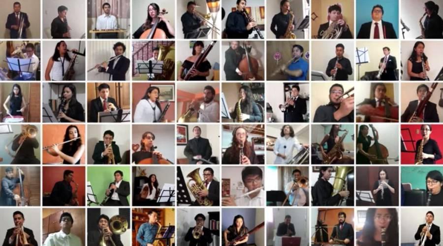 Facultad de Música de la UNAM da su primer concierto virtual