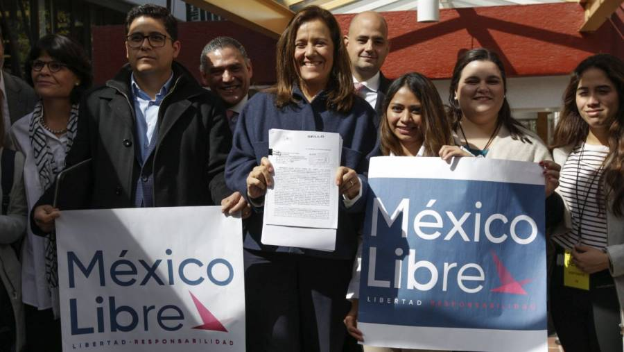 México Libre desmiente solicitud al INE para retirar su registro