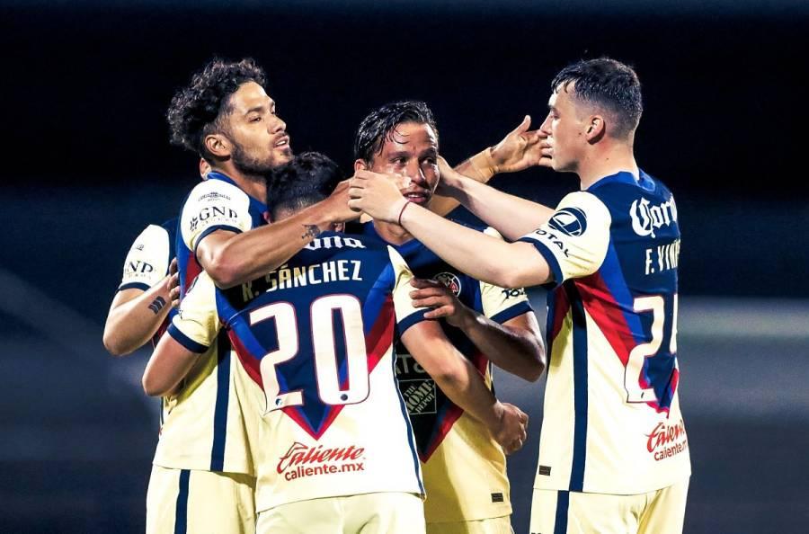 América es líder tras golear a Tijuana con doblete de Martín