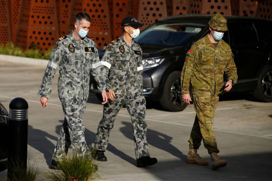 Decretan toque de queda en Melbourne por nueva oleada de Covid-19