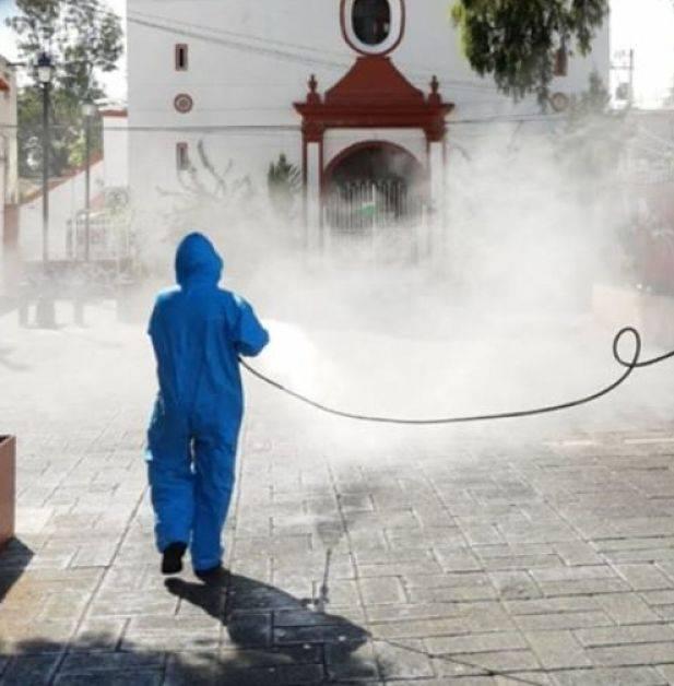 Hacen misas al aire libre en Xochimilco, para mayor seguridad ante pandemia