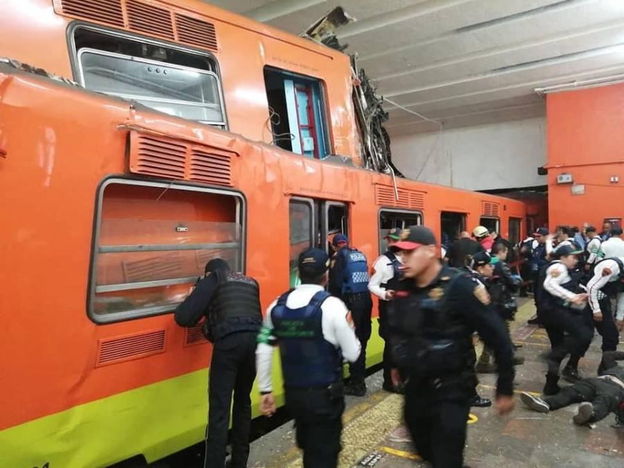 Pedirán al Metro informe detallado sobre accidente en estación Tacubaya