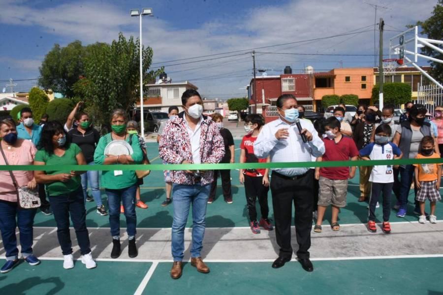 """Ayuntamiento de Soledad inaugura área recreativa en la Colonia """"Fidel Velázquez"""""""