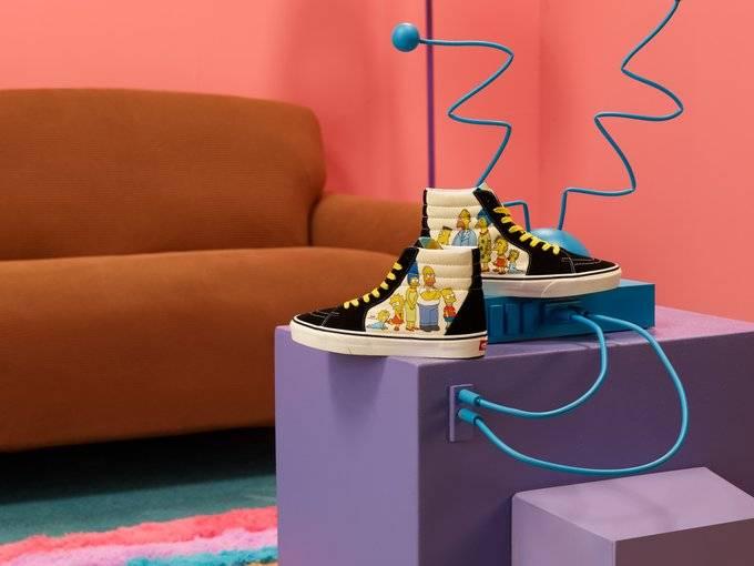 Vans rinde homenaje a Los Simpsons con su nueva colección