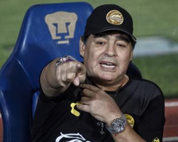 Llama Conmebol a Maradona y otras leyendas a participar en colecta por Covid-19