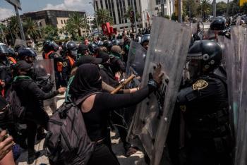 GobCDMX presenta acuerdo de actuación policial para manifestaciones