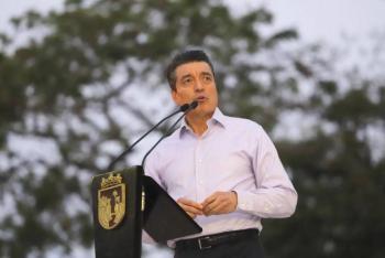A pesar de tener baja de contagios, gobernador de Chiapas pide seguir con medidas preventivas