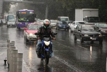 En seis alcaldías prevén lluvias con granizo y viento