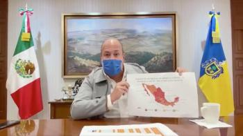 Alfaro exhibe errores de López-Gatell respecto al semáforo en Jalisco