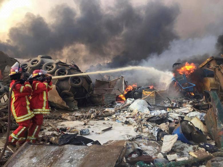 Da a conocer Ministerio de Salud de Líbano cifra de muertos y heridos por explosión