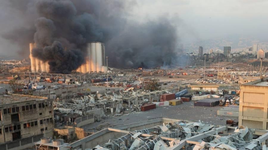 Incrementa la cifra de muertos por explosión en Beirut; suman 3 mil 700 heridos