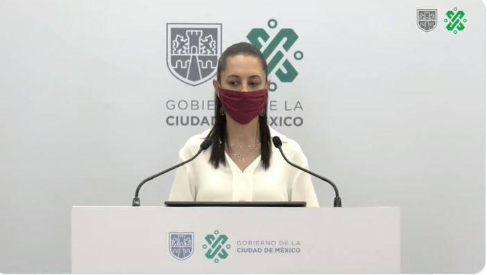 Sheinbaum muestra desacuerdo con Morena por sancionar a quien no use cubrebocas