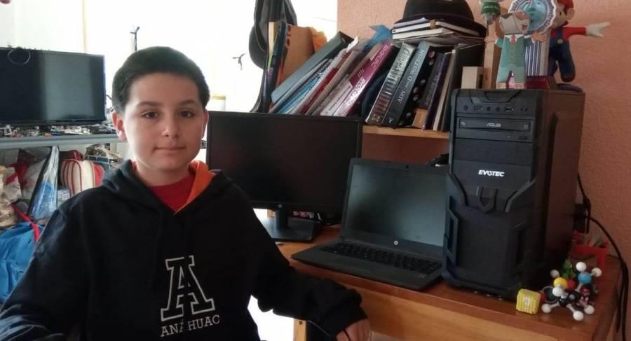 Niño genio estudiará segunda carrera en la Universidad Anáhuac Mayab