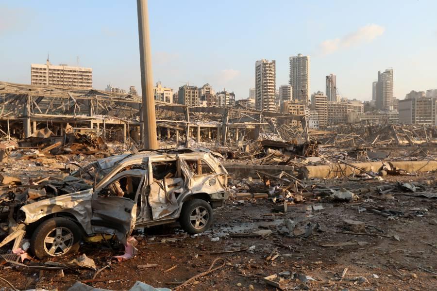 Explosión en Beirut deja al menos 10 muertos