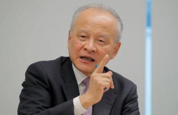 Embajador chino en EU, asegura que no buscan más tensiones