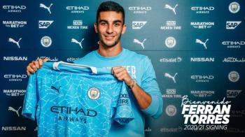 Oficial: Ferran Torres, nuevo jugador del Manchester City