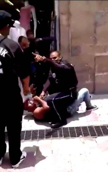 Policía de León estricta contra quien no porta cubrebocas