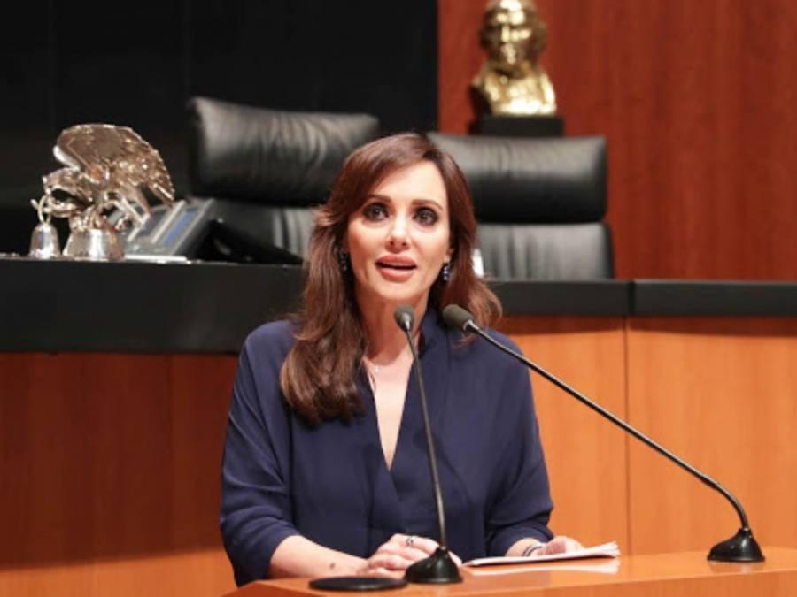 Lilly Téllez admira a AMLO por defender discursos del Papa Francisco