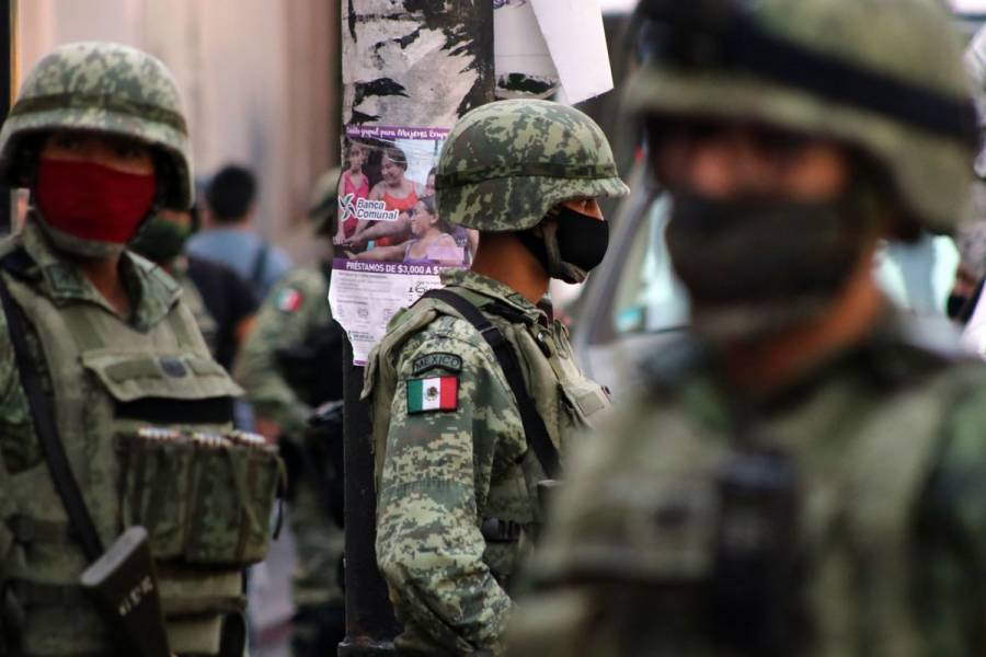 Guardia Nacional controla enfrentamientos entre grupos criminales en Sinaloa
