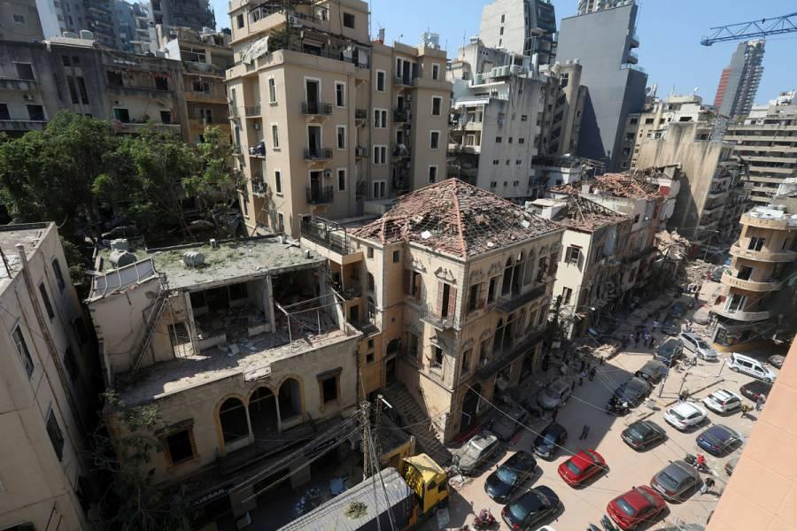 Negligencia sería posible causa de explosión en Beirut