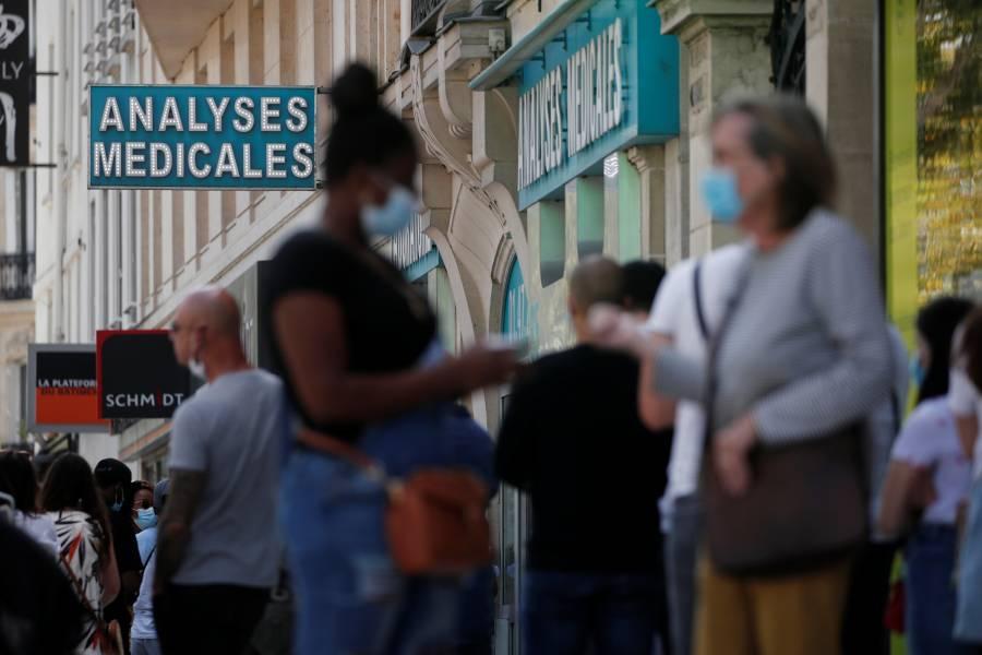 Francia reporta incremento de casos por Covid-19