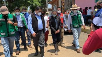 INSTALAN PUESTO DE ATENCIÓN POR AFECTACIONES DE LLUVIAS EN XOCHIMILCO
