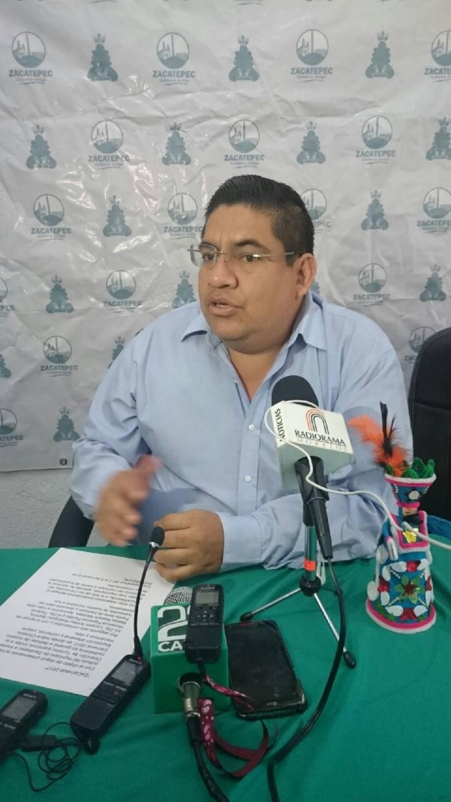 Detenido por corrupción ex alcalde de Zacatepec