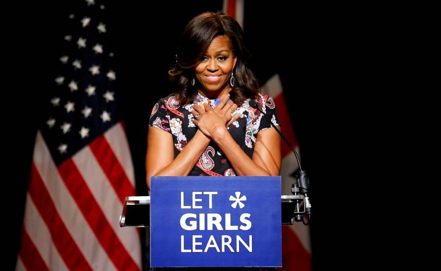 Revela Michelle Obama que sufre 'leve depresión'