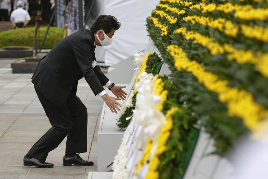 Advierte Hiroshima contra 'nacionalismo egocéntrico' 75 años después de bomba atómica