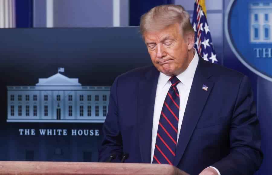 """México tiene un """"tremendo  problema"""" con el Covid: Trump"""