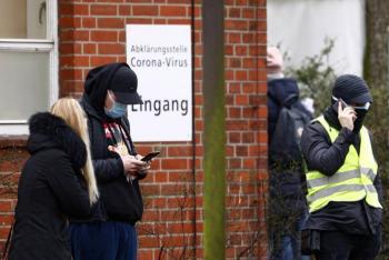 Tras protestas contra confinamiento, Alemania tiene récord de contagios de covid-19