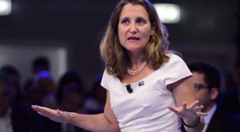 Canadá anuncia contramedidas a imposición de aranceles de Estados Unidos