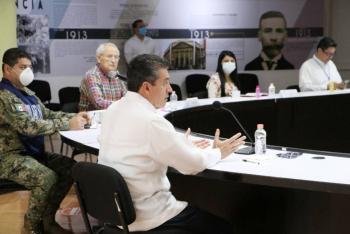 Rutilio Escandón hace un llamado para que los chiapanecos no abandonen medidas sanitarias