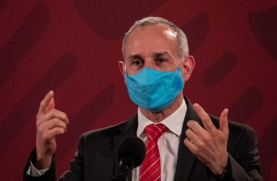 Por 'politiquería' adversarios lanzaron campaña contra Gatell: AMLO