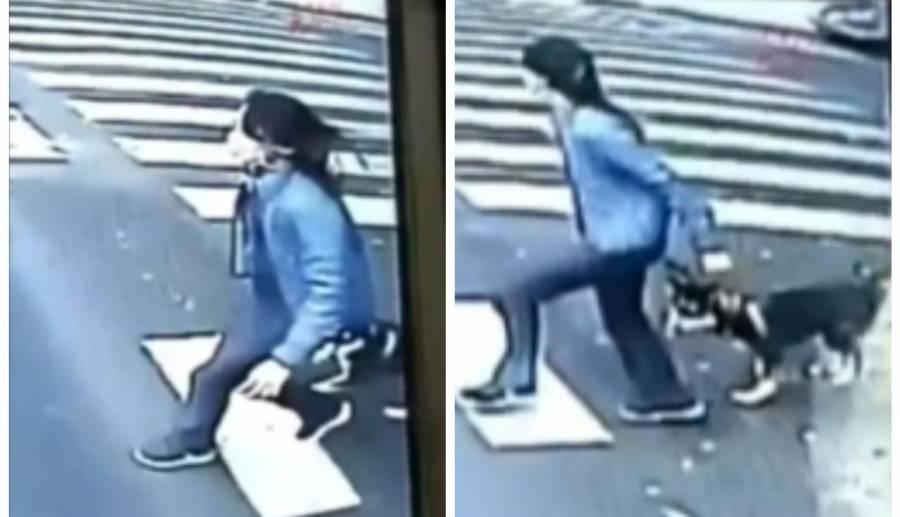 Video: Trolebús atropella a una mujer
