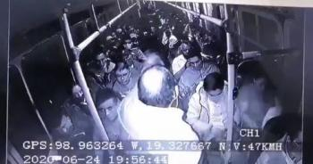 Se hace viral vídeo donde militar abate a tres ladrones en TP