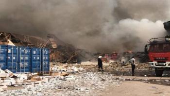 Se incendia almacén de UNICEF en el Congo