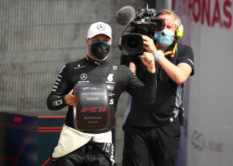 Bottas lidera la pole del GP 70 aniversario