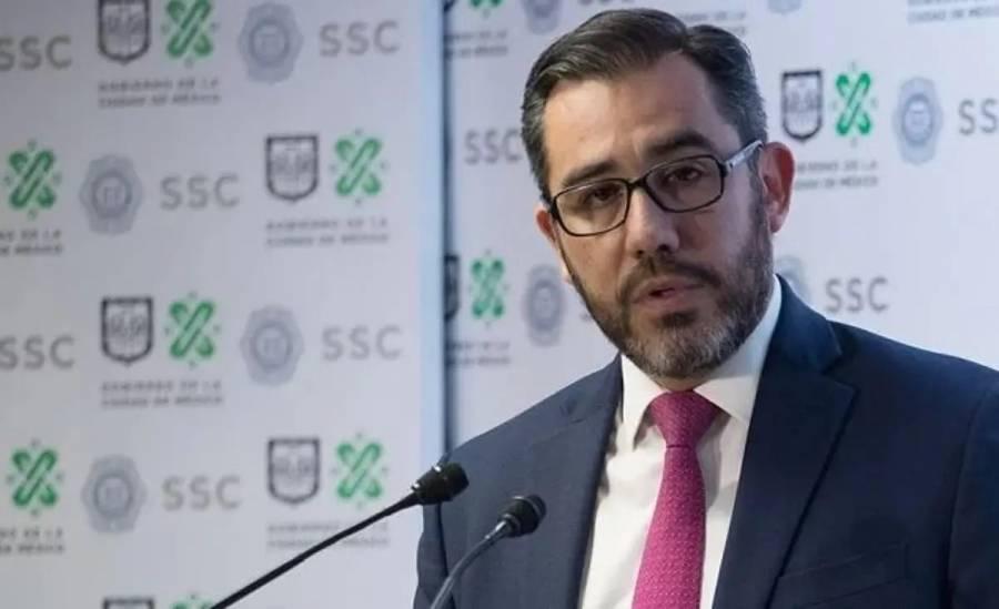 FGR investiga a Jesús Orta, extitular de la SSC en la CDMX