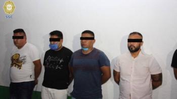 Detienen a ocho presuntos integrantes de La Unión Tepito en la CDMX