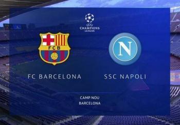 Barcelona elimina a Napoli y avanza a cuartos de final de la Champions