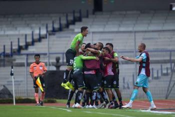 FC Juárez con nueve jugadores saca el empate a los Pumas