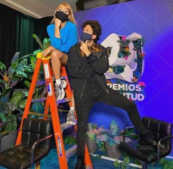 ¡Ya se conocieron Danna Paola y Sebastián Yatra!